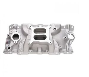 Edelbrock 2701 Performer Eps Intake Manifold For Small Block Chevy V8 262 400