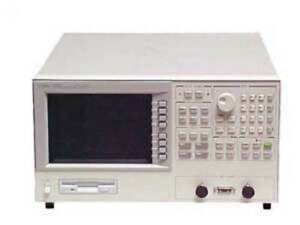 Hp agilent 4291b 001 1d5 Rf Impedance material Analyzer