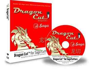 Dragoncut Saga Vinyl Cutter Software With Cd