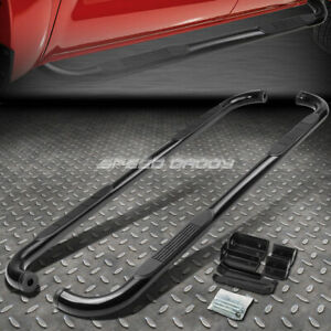 For 00 Chevy Suburban Avalanche Yukon Black 3 Side Step Nerf Bar Running Board