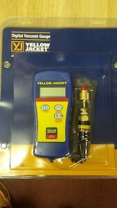 Vacuum Gauge Digital Yellow Jacket Model 69086