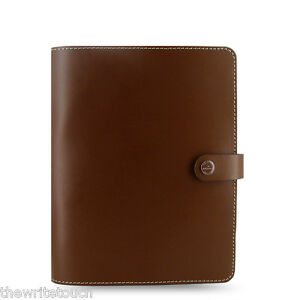The Filofax Original Organizer A5 Retro Brown Leather Made Uk 022442