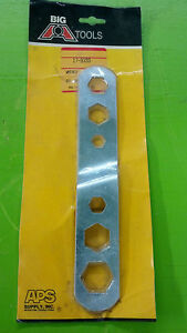 Wrench Oil Drain Wrench 6 Sizes Part 17 9333 Big A Tools Houston Texas