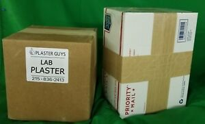 Lab Plaster Slow Set 28 Lbs For 39 Free Fast Delivery Made In Usa