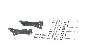 B W Hitches Rvk2400 5th Wheel Hitch Mounting Rail Kit For 05 10 F 250 Super Duty