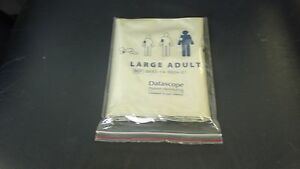 Datascope Disposable Large Adult Blood Pressure Cuff Box Of 10