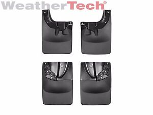Weathertech No drill Mudflaps For Toyota Tacoma 2016 2018 Front
