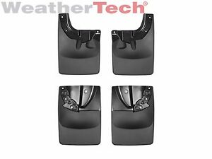 Weathertech No Drill Mudflaps For Toyota Tacoma 2016 2019 Front