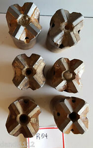 2 1 2 Carbide Rock Cross Drill Bits R54