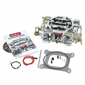 Edelbrock 14054 Performer Series 600 Cfm Manual Choke Carburetor