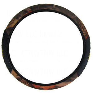 Brand New King Camo Woodland Shadow Realtree Car Truck Van Steering Wheel Cover
