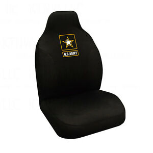 Brand New Military U s Army Star Car Truck Front High Back Bucket Seat Cover