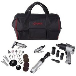 Sunex 4 Tool Kit With Accessories And Free Gatemouth Bag Sunsx231pbagpr2 New