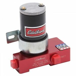 Edelbrock 182061 Quiet Flo 160 Gph 12 Psi Electric Fuel Pump