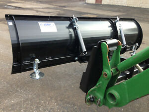 Quick Attach Plow For John Deere Front Loaders Works Wiht Jdqa