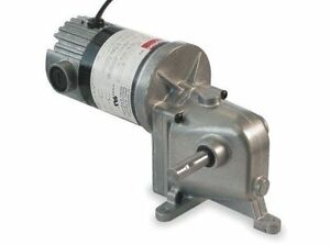 Dayton Model 1lra8 Dc Gear Motor 3 Rpm 1 20 Hp Tenv 90vdc 4z723