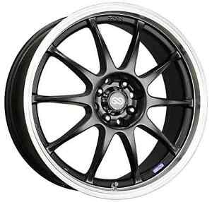 Enkei 409 875 26bk Black J10 18x7 5 38mm Offset Performance Series Wheel