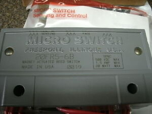 Honeywell micro Switch 20fr5 6b Two piece Magnet Actuated Reed Switch nib