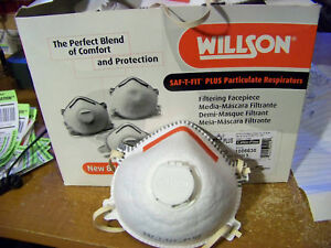Nib Willson 14110393 Particulate Respirator Mask 20ct