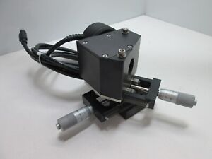 Ophir Beamstar v f Sensor On X y Stage At 45 approx W 0 25mm Micrometers