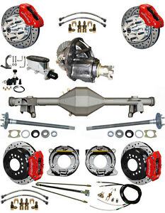 New Suspension Wilwood Brake Set Currie Rear End Posi Gear Master Valve 829214
