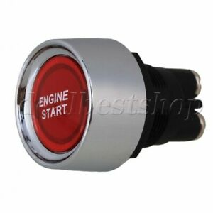 Dc12 24v Car Engine Start Push Button Switch Redillumination Ignition