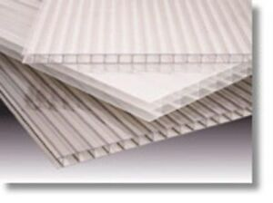 Lexan Thermoclear Sheet 25x6x36 White 10pc Double Wall Polycarbonate Corrugated