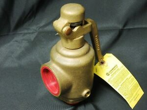 Conbraco 29 503 30 Size 1 1 4 Bronze Safety Relief Valve Obsolete