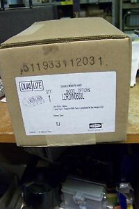 Nib Hubbell Dual lite Lzrdw0603l Remote Heads And Fixtures