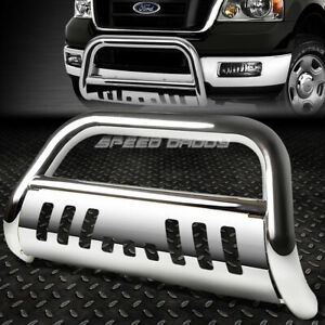 For 04 16 Ford F150 Non ecoboost 03 expedition Chrome Bull Bar Push Bumper Guard