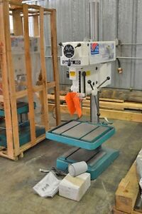 Clausing Model 2277 20 Floor Drill 1 1 2 Hp 460 Volt 3 Phase 900 1800 Rpm