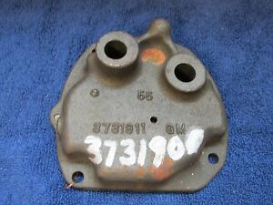 1965 68 Chevy 10 20 Truck Muncie 3 Speed Transmission Shifter Cover Nos Gm 616