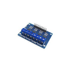 Hg7881 4 channel Dc Stepper Motor Driver Controller Board For Arduino New