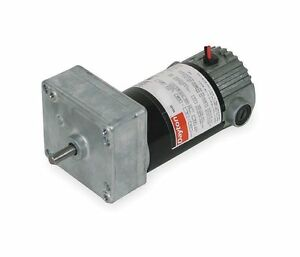 Dayton Model 1lpw3 Dc Gear Motor 29 Rpm 1 30 Hp 90vdc 4z537