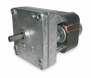 Dayton Model 1mbf3 Gear Motor 1 1 Rpm 1 670 Hp 115v old Model 2z804