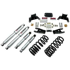 Belltech 926sp Front 2 Rear 4 Drop Lowering Kit W Shocks For 87 96 Ford F150