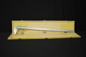Primeline International Vernier Caliper 24 600 Mm Inside Outside Jaws