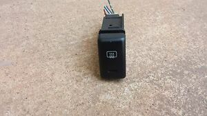 1998 2002 Isuzu Trooper Defrost Switch Button Oem