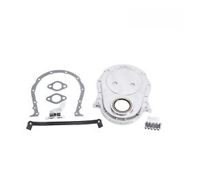 Edelbrock 4241 Aluminum Timing Cover For Big Block Chevy