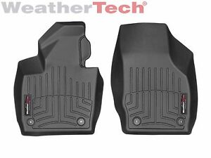 Weathertech Floor Mats Floorliner For Audi Q3 2015 2018 1st Row Black