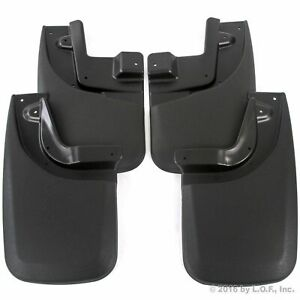 2005 2015 Fits Tacoma Mud Flaps Mud Guards Splash Guards Front Rear Molded 4pc