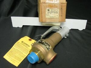 Conbraco 19 402 19 Size 1 90 Psi Bronze Safety Relief Valve New Model 19 fe