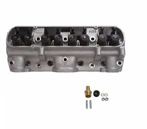 Edelbrock 61599 Performer D Port 72cc Cylinder Head For 389 455 Pontiac V8