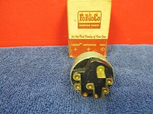 1961 62 Ford Truck Windshield Wiper Motor Switch Nos Ford 616