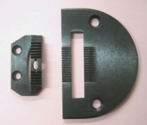 Consew 206rb Walking Foot Machine Needle Plate And Feed Dog Set 18030 18301