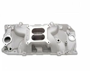 Edelbrock 7161 Performer Rpm 2 O Intake Manifold For 396 502 Big Block Chevy V8