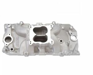 Edelbrock 7164 Performer Rpm 2 O Q Jet Intake Manifold For 396 502 Chevy V8
