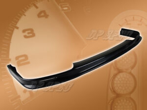 For 92 93 Acura Integra T m Front Bumper Lip Body Kit Spoiler Poly Urethane Pu