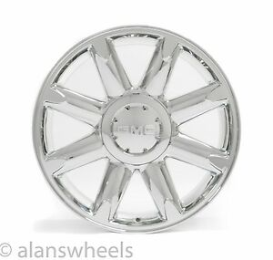 4 New Gmc Sierra Yukon Denali Chrome 20 Wheels Rims Free Shipping 5304