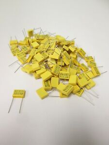 Lot Of 111 Mex tenta Mkp Film Capacitors For Emi Rfi Suppression 0 1 f 275vac